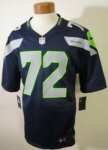 NWT Nike Michael Bennett Seattle Seahawks  72 Home Game Jersey S ... 936d301ea