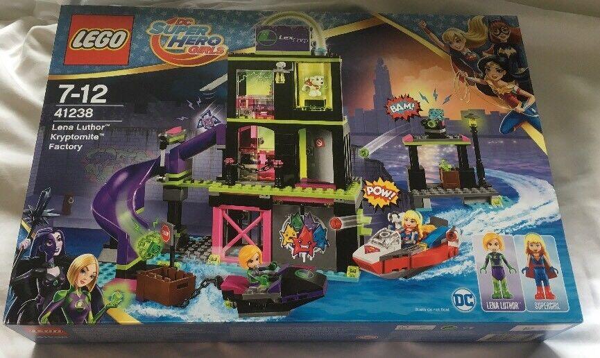 LEGO Dc Super Eroe le ragazze Lena LUTHOR kryptomite Factory Set 41238 da 2017 NUOVI