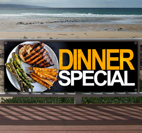 DINNER SPECIAL Advertising Vinyl Banner Flag Sign Many Sizes Available USA