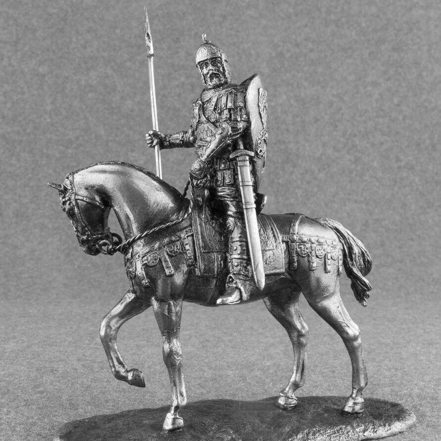 Cavalry is the army of Kievan Rus Boyar Tin 54mm 1 32