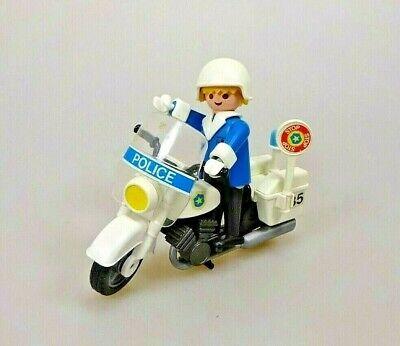 Playmobil Polizei Motorrad BLAULICHT aus Set 3564 Ersatzteil Police Quad 3655