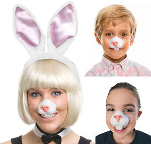 d644c1bfd6f Details about Easter Bunny Rabbit Nose And Teeth Costume Mask