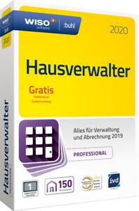 WISO-Hausverwalter-2020-Professional-150-Wohneinheiten-CD-amp-Handbuch