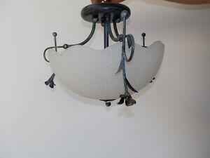 Plafoniere Vetro Satinato : Sabbia plafoniera vetro satinato materiale