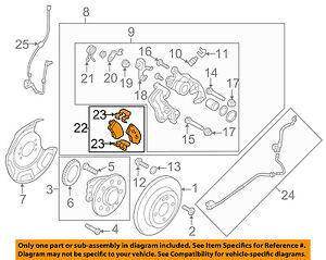 HYUNDAI OEM 16-17 Tucson Brake-Rear Pads 58302D3A00