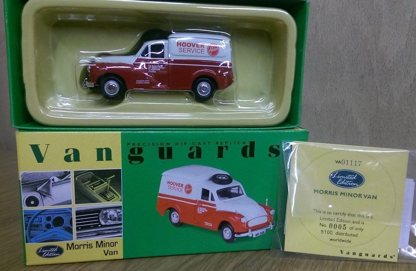 Corgi Vanguards VA01117 Hoover Morris Minor Van Ltd Edition No. No. No. 0005 of 5100 f014a1