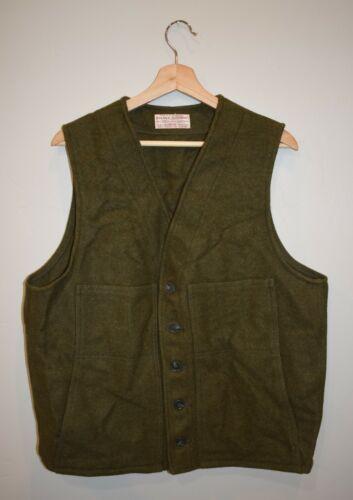 Filson Mackinaw 100% Virgin Wool Vest Men's sz. 44