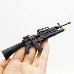 4d assembled 1 6 m16a4 assault rifle us army w grenade launcher gun