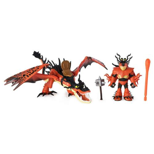 DreamWorks Dragons Hookfang Snotlout Hidden World figures