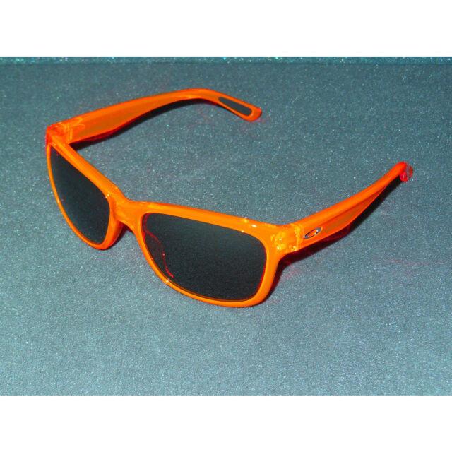 10d0d9affb3 New Oakley Forehand Sunglasses Neon Orange Black Iridium Women s Retro Sport  USA