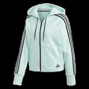 Détails sur Adidas Must Haves 3 Rayures Full Zip à Capuche Pull Sweat Femmes, DX2530J4