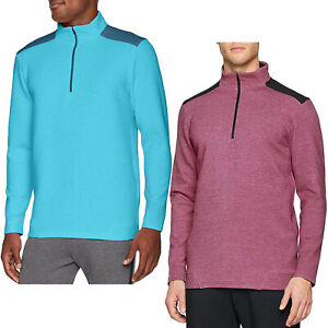 Under-Armour-Mens-Storm-Playoff-1-2-Zip-Golf-Pullover-Sweater-Sweatshirt-Top