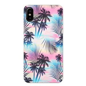 Coque Iphone XS MAX tie and dye palmier