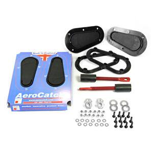 AEROCATCH-125-FLUSH-SERIES-BONNET-HOOD-PINS-CATCHES-BELOW