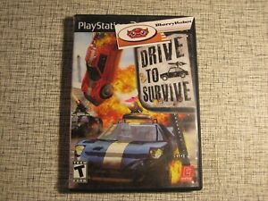 Drive To Survive PS2 PlayStation 2 Extreme Demolition Derby Racing Game