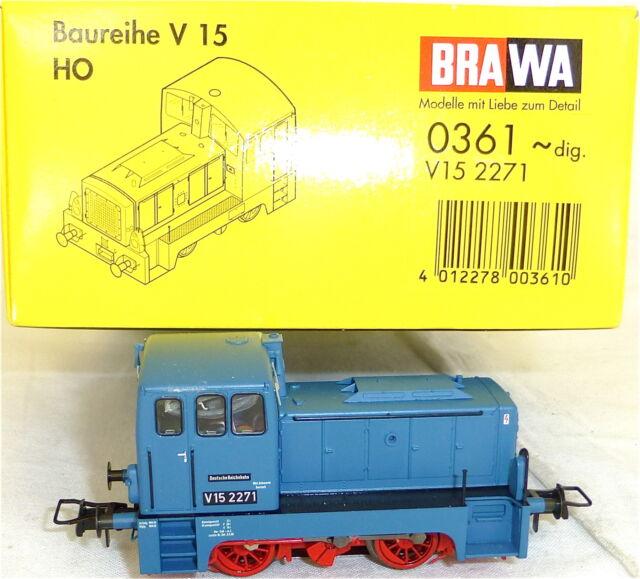 V 15 2271 Locomotora Diésel para Märklin Digital BRAWA 0361 H0 1:87 KA4 å