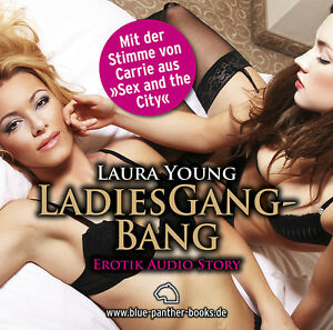 LadiesGangBang-Erotisches-Hoerbuch-1-CD-von-Laura-Young-blue-panther-books