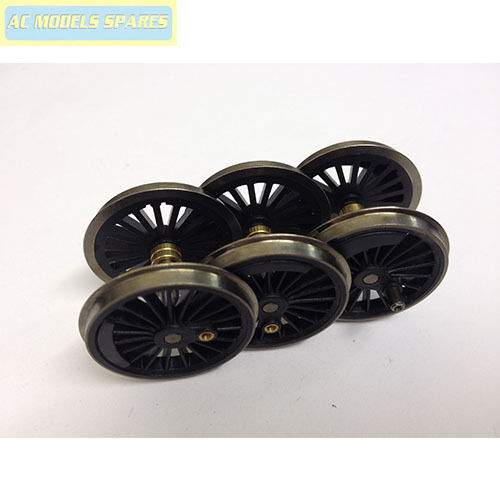 X9077 Hornby Spare LOCO WHEEL /& AXLE SET for BLK5