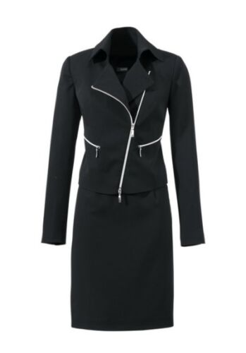 Kostüm Class International NEU Gr.36-38 Damen Anzug Schwarz Business Blazer Rock