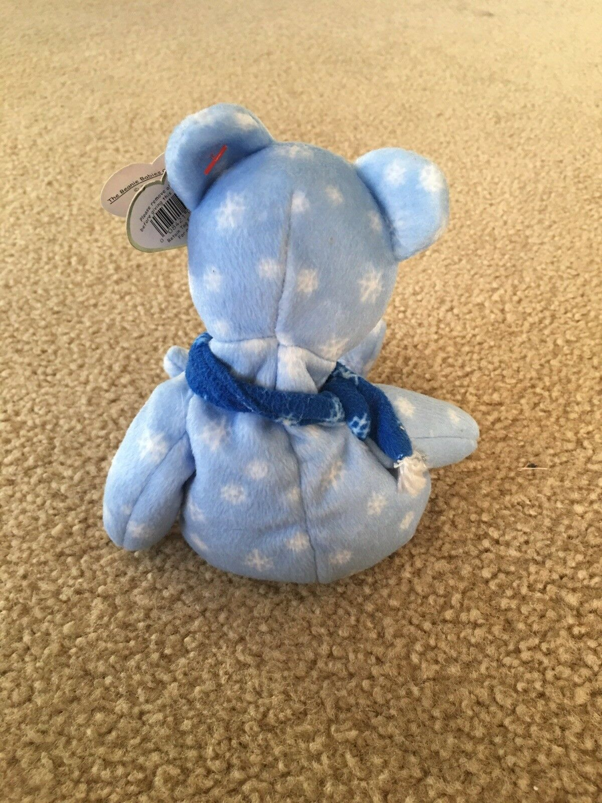 Beanie baby, holiday 1999 holiday holiday holiday teddy, bluee beanie baby, winter beanie baby b674f8