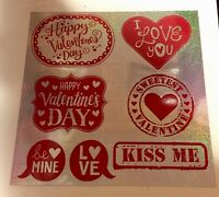 Valentines Day Heart Clings Refrigerator Magnets Wreath Swag Pick Floral Decor 7