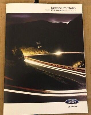 Di Carattere Dolce Nuovo Ford!!! Servizio Libro, Fiesta, Ka, Focus, Mondeo, B-max, C-max, S-max, Galaxy!- Bianchezza Pura