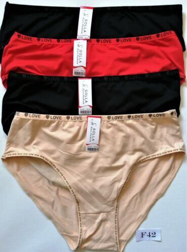 3*er.Damen Slips Pantys Pants Dessous Unterhose Bambus.Gr.:L:XL=44//46;48//50.NEU.