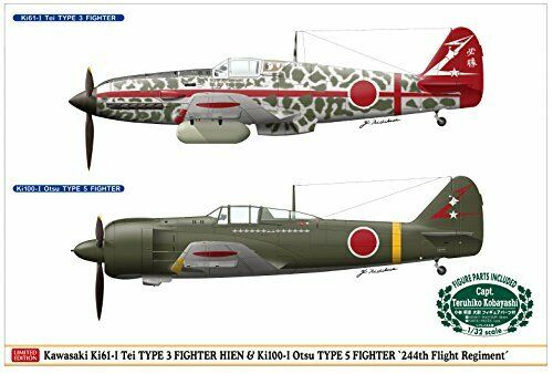 Hasegawa 1 48 Kawasaki Ki-61 Hien I-Tei & Ki-100 I-Otsu Flight 244th Squadron