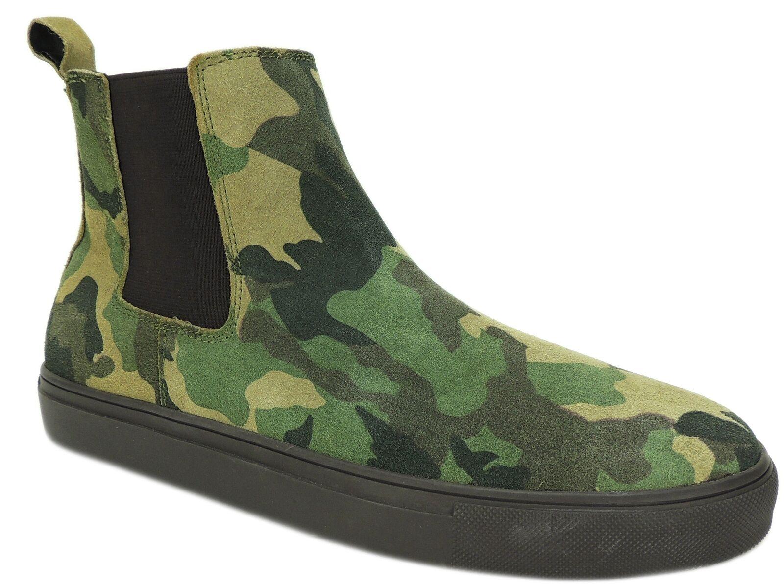 Steve Madden Uomo Dalston Casual Casual Casual scarpe da ginnastica verde Camouflage Dimensione 10.5 M b218ab