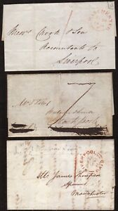 THREE-PRE-STAMP-COVERS-MANCHESTER-AND-LIVERPOOL-CANCELLATIONS