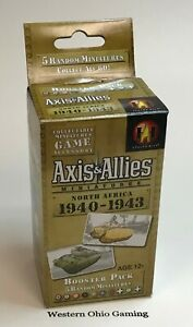 A-amp-A-Axis-amp-Allies-Miniatures-North-Africa-1940-1943-Booster-Pack-NEW-from-Case
