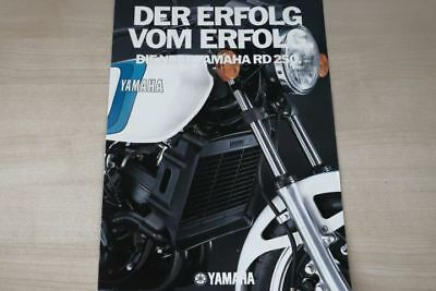 Yamaha Rd 250 Prospekt 197? Prospekte Self-Conscious 194259