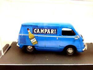 Brumm 1/43 Fiat 600 Multipla Furgone Campari #90A