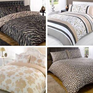 Zebra Print Super King Size Bedding