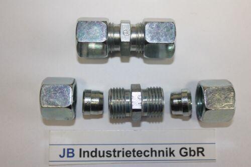 1x Verbinder 6mm für Kraftstoffleitung Kraftstoffschlauch PA Schlauch