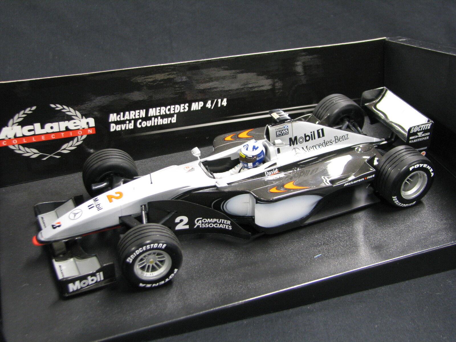 Minichamps McLaren Mercedes MP4 14 1999 1 18  2 David Coulthard (GBR) (JS) ND