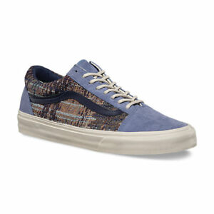 14b570cca1 Vans Old Skool DX Suede Italian Weave Infinity Men s Skate Shoes ...