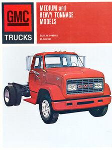 1967 GMC Truck Series Medium Heavy Tonnage Original Sales