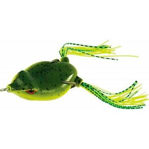 SPECIALE-TOP-WATER-RANA-Rapture-Dancer-Frog-45mm-7gr-COLORE-Natural-Weed