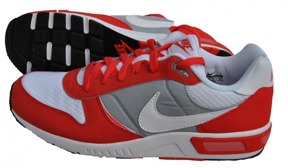 Nike Nightgazer Mens Red Grey Running Shoes 644402-601