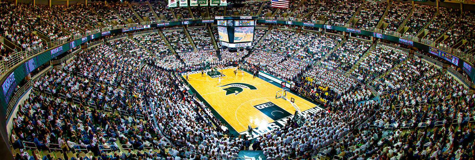 2018 Michigan State Spartans Basketball Season Tickets - Season Package (Includes Tickets for all Home Games)