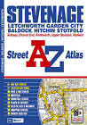 Stevenage Street Atlas by Geographers' A-Z Map Company (Paperback, 2008)