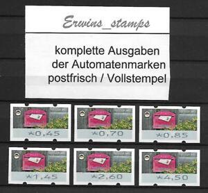 ATM 2017 Federal 2017 Vending Machine stamps set 9 MINT/Full Stamp