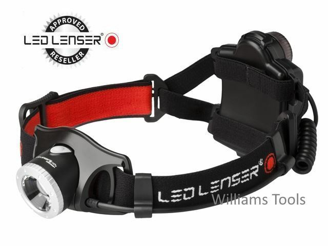 LED Lenser H7.2 Head Light Torch Joggers Cycling Hiking Fishing 250 Lumins 7297