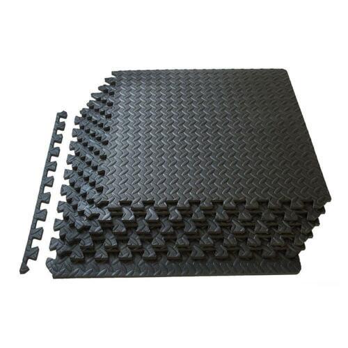 72~ 216 Sq Ft EVA Foam Floor Interlocking Mat Show Floor Gym Exercise Yoga Mat