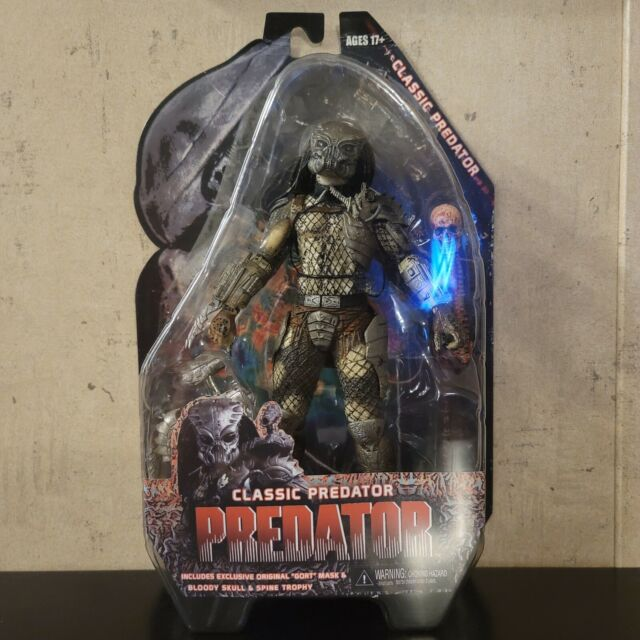 NECA Classic Predator (Predator 1987) With GORT Mask
