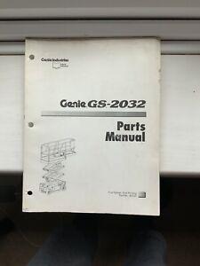 GENIE-SERVICE-GS-2032-amp-Pieces-Manuel