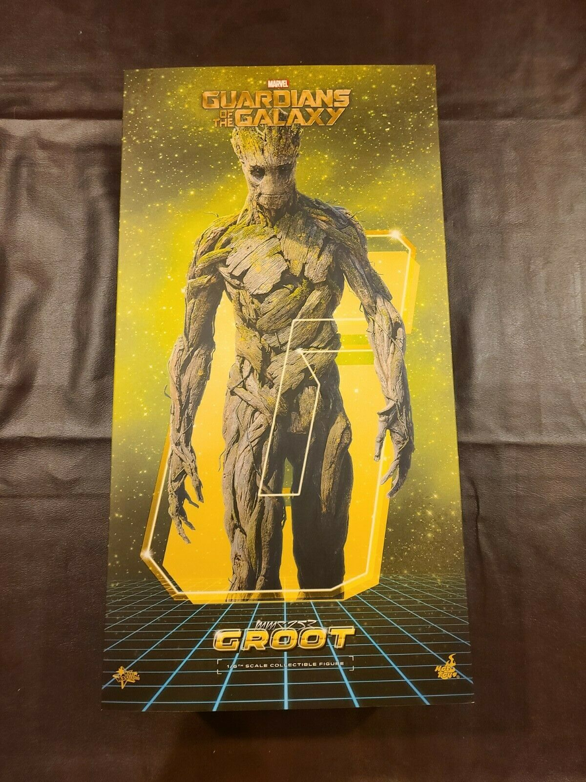 HOT TOYS 1/6 GUARDIANS OF THE GALAXY GROOT FIGURE MARVEL on eBay thumbnail