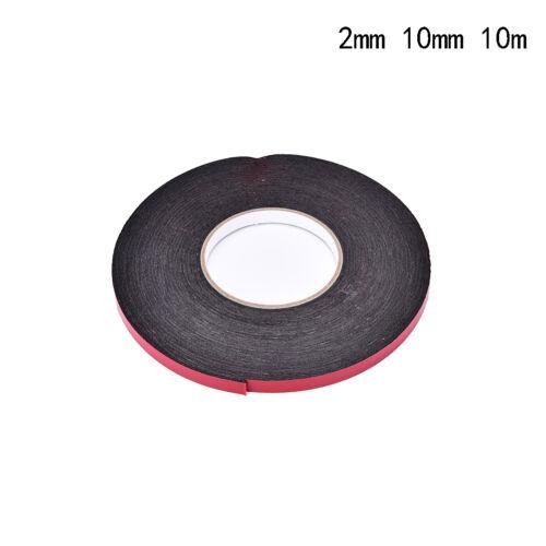 Doppelseitiges klebriges schwarzes Schaum-Schwamm-Klebeband für StaubschutzPDH