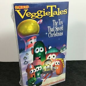 VeggieTales VHS Video Tape THE TOY THAT SAVED CHRISTMAS by Big Ideas New Sealed